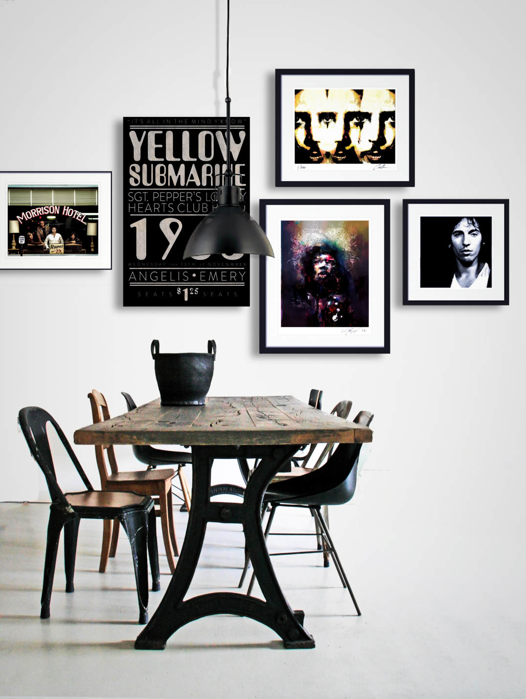 Rock And Roll Decor